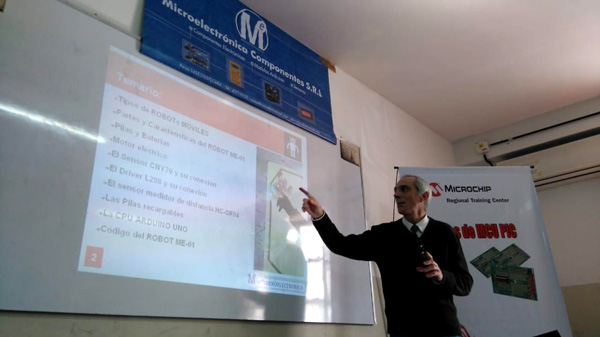 Seminario de Robótica y Electrónica Aplicada - Programación ARDUINO