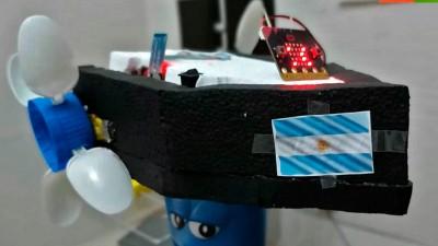 Robótica y programación para purificar la laguna de Chascomús