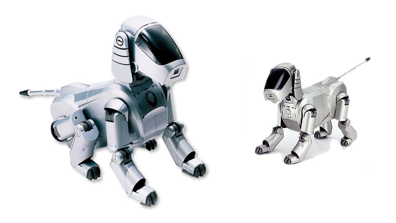 Robot mascota con forma de perro