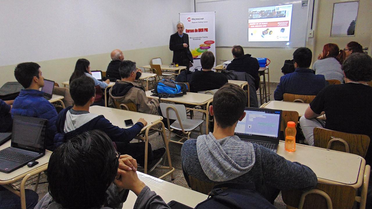 Seminarios 2019 de Robótica en UTN (FRBA)