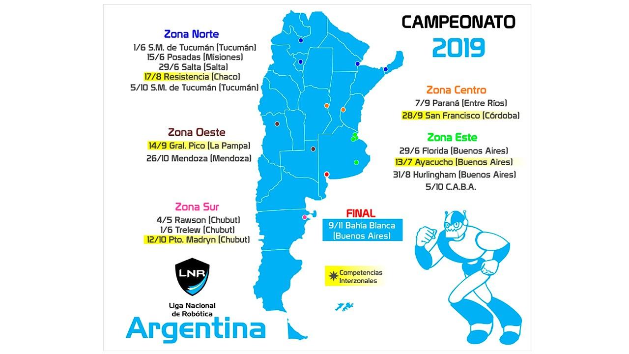 Competencia por la Zona Este del Campeonato 2019