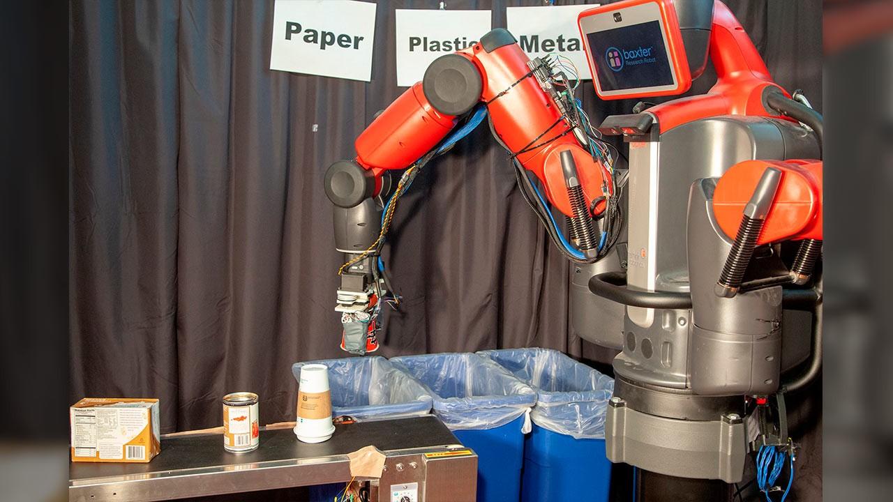 Robótica en el reciclado de basura