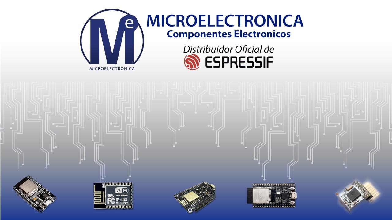 Microelectrónica Componentes SRL distribuye Espressif
