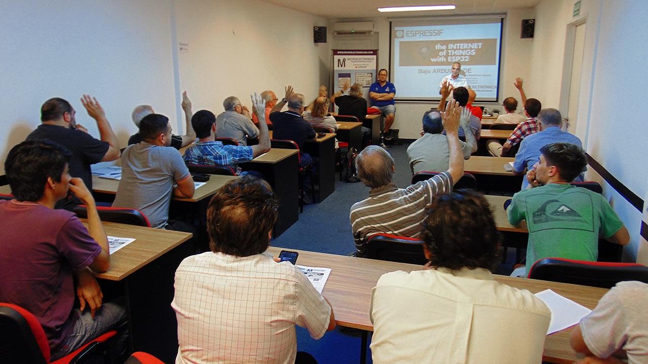 Concluyó el primer seminario de Espressif en Argentina