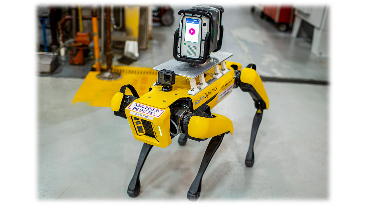 Robots cuadrúpedos para tareas de escaneo