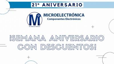 Microelectrónica Componentes SRL celebra 21 años