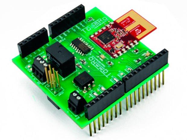 Bienvenido al Escudo Wireless MRF24J40 Arduino
