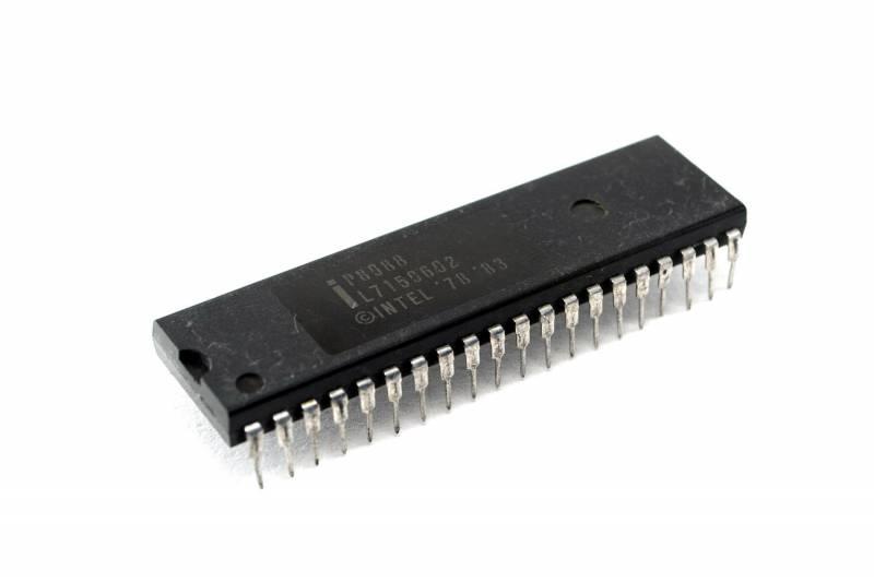 Microprocesador Hmos 8 Bit Dil-40