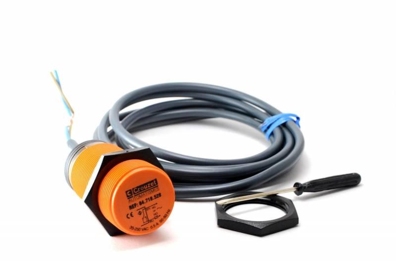 Det. Capacitivo 2 Cables No/nc M30 Plastico