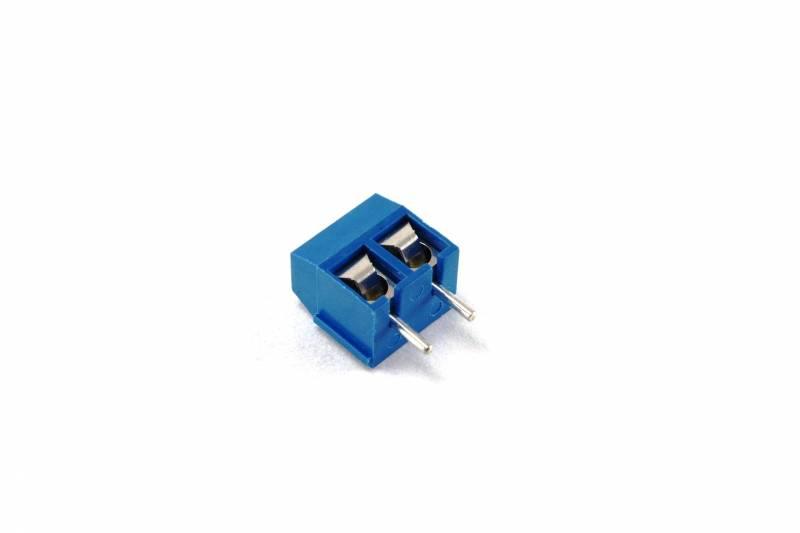 Bornera Doble Azul Para Impreso 8a 300v