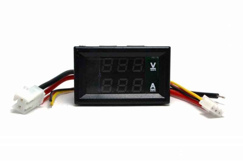 Voltimetro Amperimetro 0-99.9v 10amp Led Display