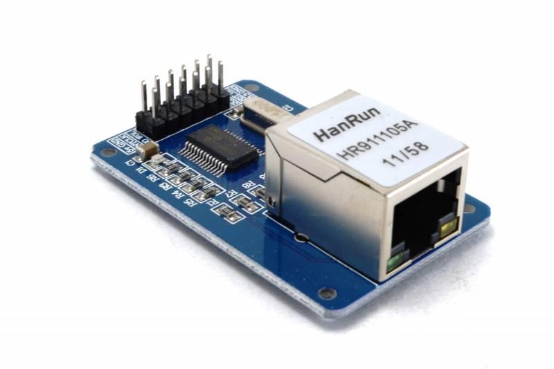 Modulo Arduino Para Red Lan (enc28j60)