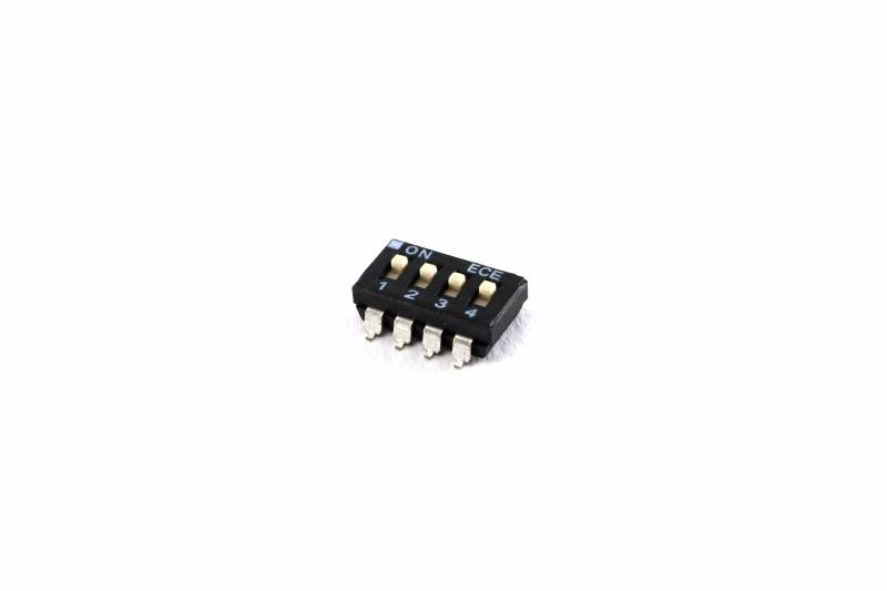 Dip Switch Smd 4 Vias