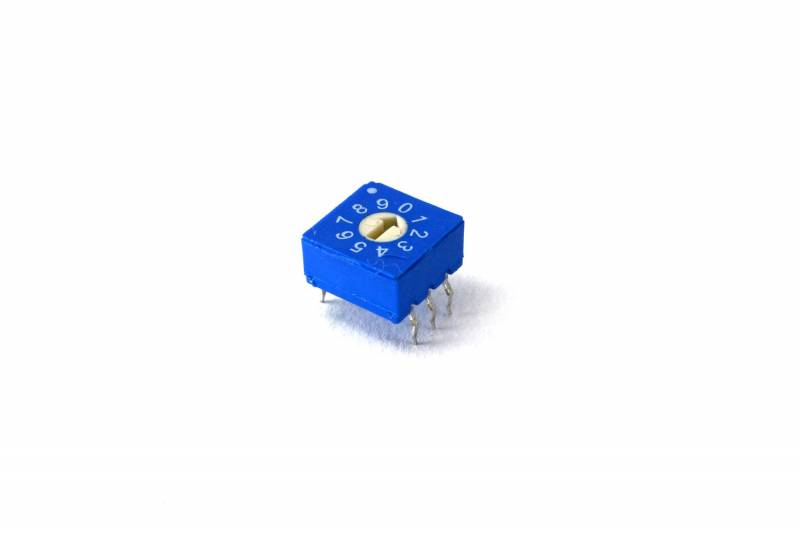 Dip Switch Rotativo 10 Pos. Decimal Real