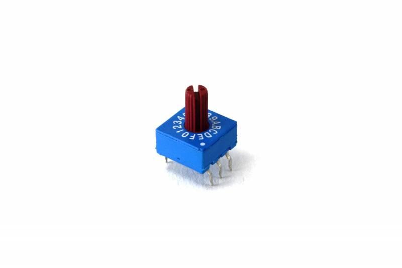 Dip Switch Rotativo 16 Pos. Exa Complementario