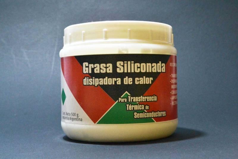Grasa Siliconada En Pote 500gr
