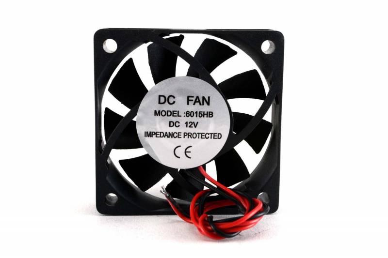 Fan 60x60x15mm 12vdc C/buje 3 Cables