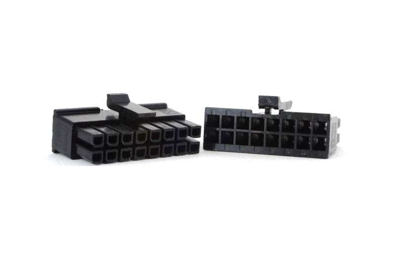 Conector Micro-fit 16 Vias Macho P/cable
