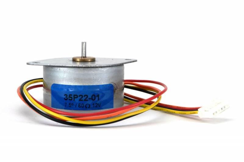 7.5º Stepper Motor 12v 0.2a D=34mm 550gr/cm