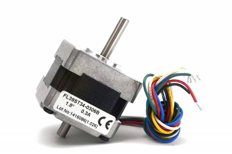1.8º Stepper Motor 12v 0.3a 39x34mm 1300gr/cm