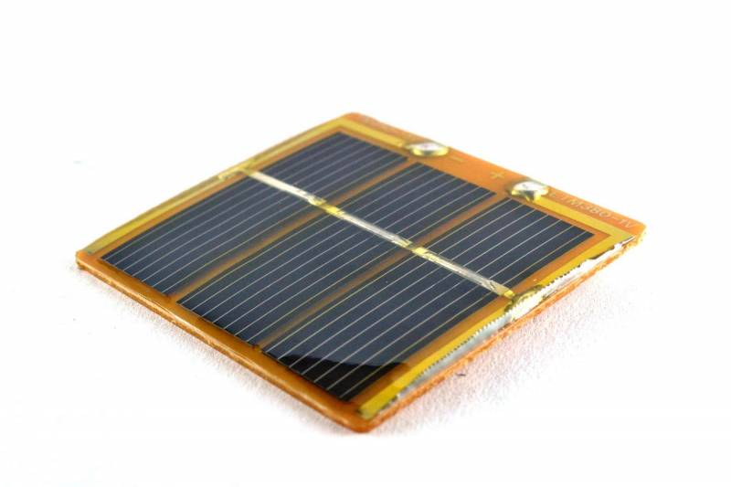Panel Solar 66x62x4mm 1.5v 250ma